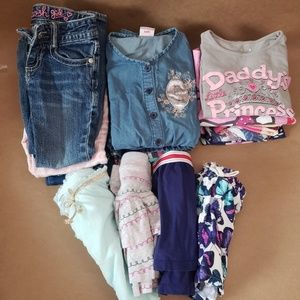 PreLoved:  Lot of 4T Girls Clothes